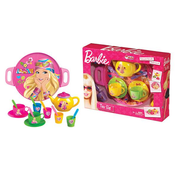 BARBIE TEPSİLİ ÇAY SET