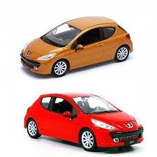 WELLY 1:24 METAL PEUGEOT 207 22492W