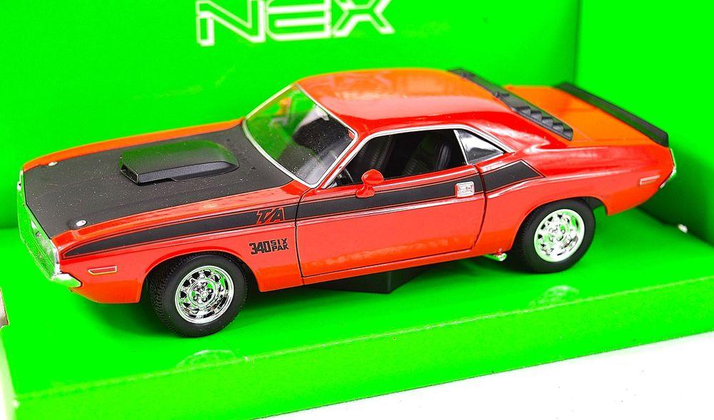 WELLY 1:24 1970 DODGE CHALLENGER T/A 24029W