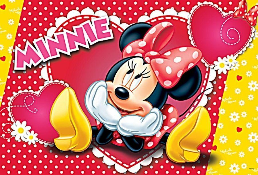 160 PCS PUZZLE MINNIE MOUSE